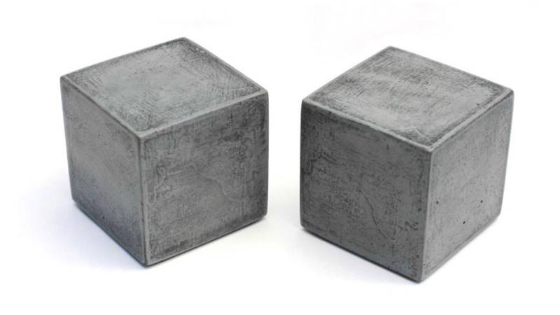 Пробы бетона кубики белый цемент москве